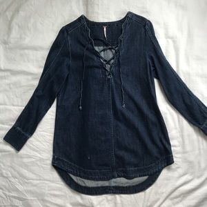 Free People Jean Dress size Small